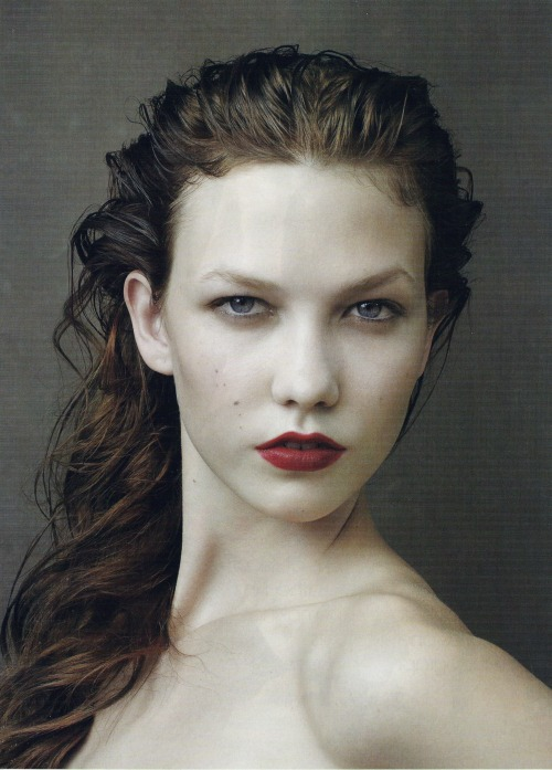 I, Karlie, Karlie Kloss by Annie Leibovitz / Vogue US September 2009