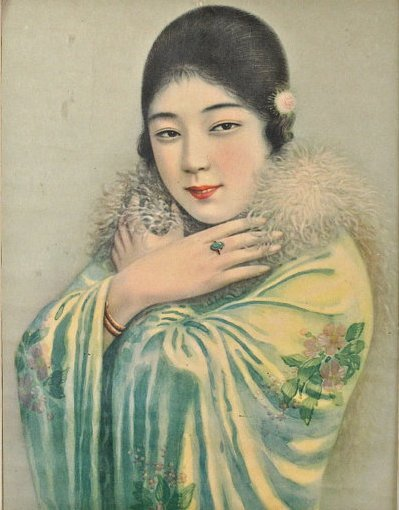 sydneyflapper:  Chinese poster illustration, 1920s