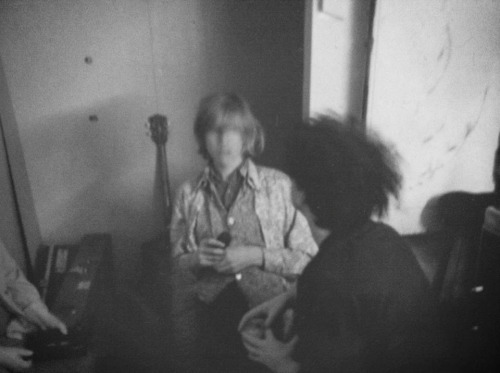 Thurston Moore and William Reid