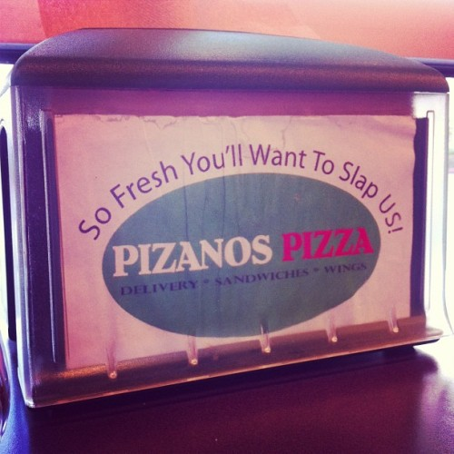 Pizza marketing.