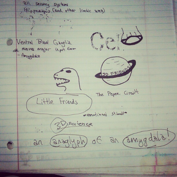 "My ""notes"" as a med student.. @littlescience"