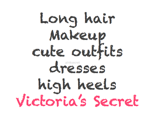 fashioncupcakes123:  Victoria's Secret™ (@PlNKSECRET) op Twitter on We Heart It. http://weheartit.com/entry/61948594/via/tiinaaa_x
