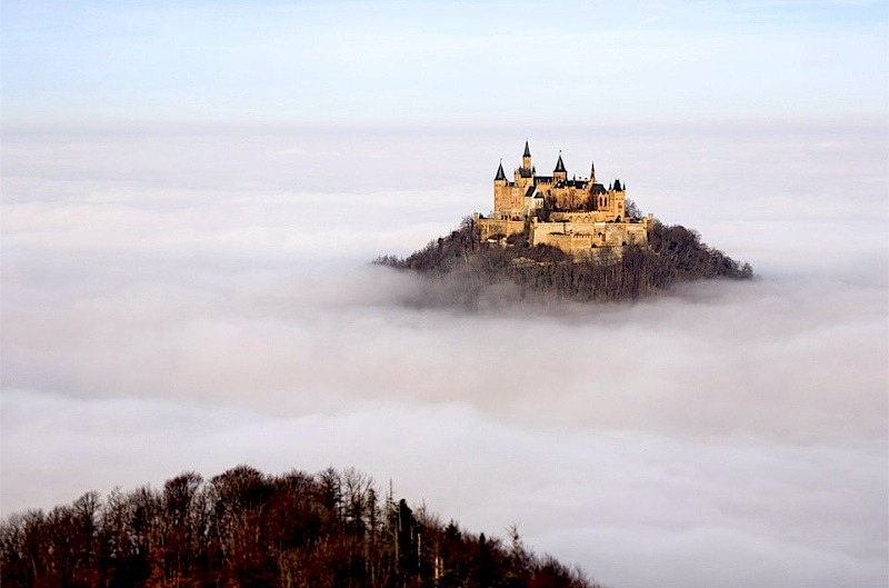 | ♕ |  Above the clouds - Neuschwanstein  | by © Robin Holler | via ysvoice