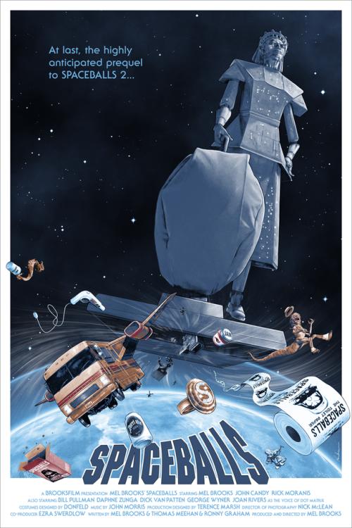 spaceballs film mel brooks comedy poster kevin m wilson hero complex gallery