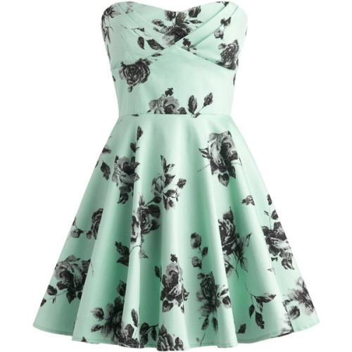 la-la-lahyou:  Dress ❤ liked on Polyvore (see more sweetheart rose dresses)