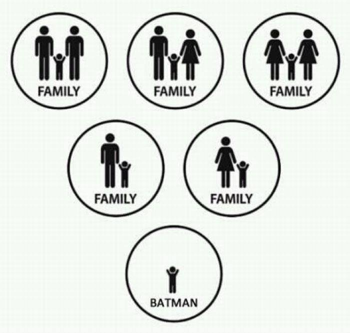 lickypickystickyme:  Equality for all, except Batman.