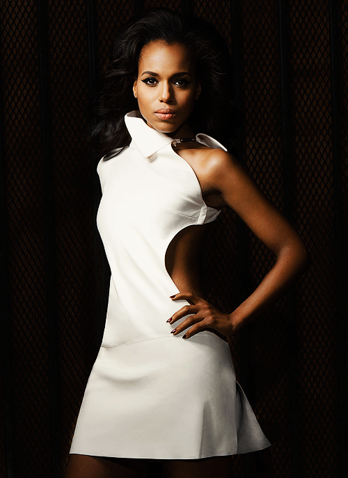 hermione:  Kerry Washington photographed by Sheryl Nields