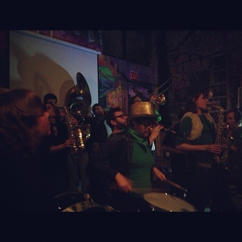 Rude Mechanical Orchestra, C-Squat, Lower East Side, NY
