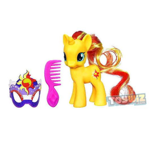 And this is how Sunset Shimmer looks outside the box and without her mask on…simply amazing!!! I love her unique eyes and colours! Must have her ;)