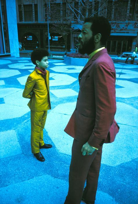 thesoulfunkybrother:  -Ornette Coleman & son