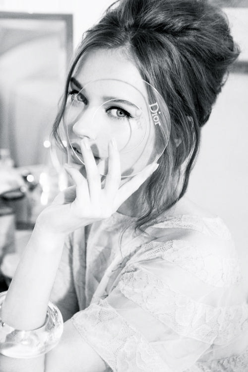colorless-b-e-a-u-t-y:  Monika Jac Jagaciak for Dior Cruise 2012 by Ellen von Unwerth
