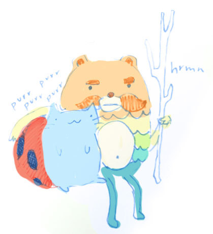 because catbug is just too cute.  Gas Powered Cuties Watch Bravest Warriors on Cartoon Hangover Thanks whatareyoudoingcat for sharing your adorable fan art with us