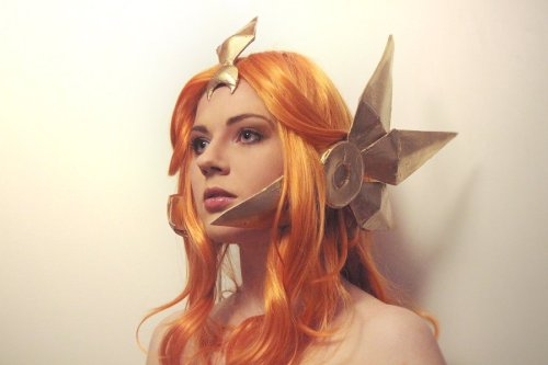 phantomsolari:  League of Legends Leona by ~MayWolf23