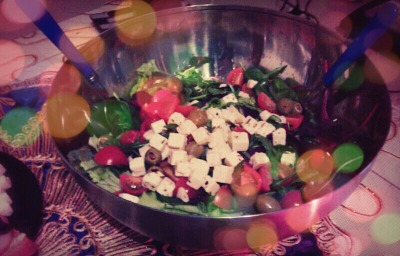 Thank you for my wife of the salad what she made to me.. its was Yummi and I love it when I ate it with you omri