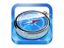 Apple Safari icon. Found it here: http://dribbble.com/michaelcurrie