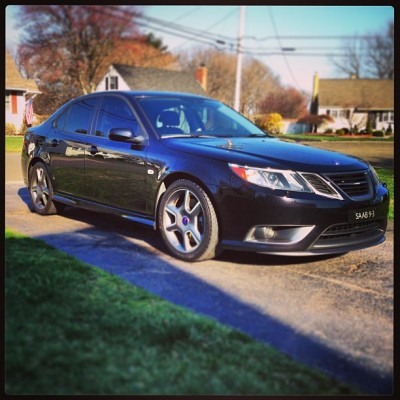 Nice and clean. I have a clean car problem. #saab #clean