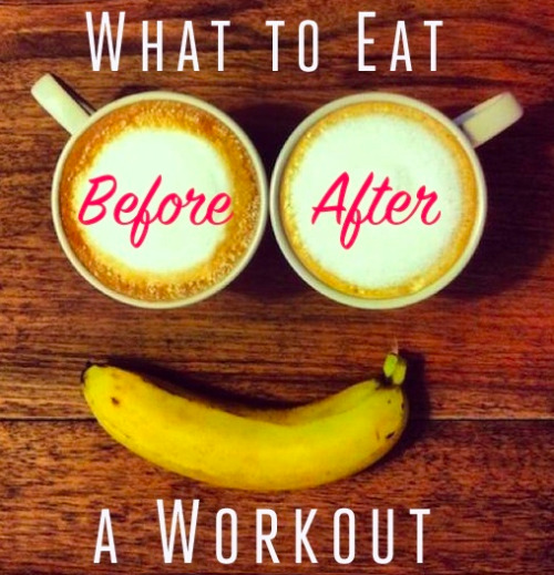 earnit-getit:  Before morning workout Eat within 30 minutes of waking up so you can jump-start your metabolism. Having some oatmeal, a banana, eggs are all great choice to start your day Before afternoon workout Your pre-workout snack should consist of foods that are easy to digest, low-fiber and low-fat within the hour. A banana, apple slices with peanut butter After your workout Eat within 30 mins - 1hours after your workout so your body doesn't start burning muscle. The key factor is fuelling your body with protein. Handful of almonds or a protein shake, fruit smoothie with skim milk, cottage cheese with fruit, greek yogurt with fruit