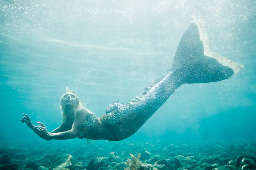 Hannah Mermaid in Bali.