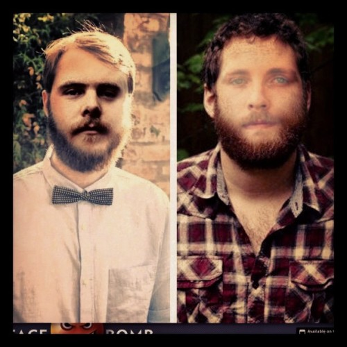 This #facebomb app is absurd! @okayfineandy @manchesterorchestra @badbooksmusic #rightawaygreatcapatin #weirdowithabeardo #creepy  (at Hawks Nest)