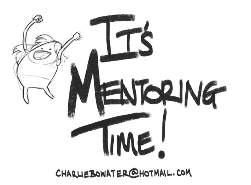 charliebowater:  I opening up an Online Mentorship! I've been asked many times before if I'd ever consider mentoring. In the past I've always shrugged it off as not being experienced enough, but; after spending the last couple of years working as a Concept Artist and Illustrator 9 to 5, I feel as though I might just have a little knowledge I can share with you guys. Essentially, I will take you under my wing and allow you to 'pick my brain.' I will help you with what it is you want to learn. Read on if you're interested! How it works:Portfolio Review: First things first, we'll start with a portfolio review. We'll go over your work and discuss where you'd like to take it. We'll figure out what your strengths are and discus how to improve your weaknesses. Tailor Made Lessons: What you learn is up to you. I will provide lessons and live demonstrations based on a variety of subjects. If you wish to focus solely on a particular area however;  then the choice is yours. I will tailor the lessons to what it is you want to learn.Weekly Demos: Each week I will spend a couple of hours doing live demonstrations. I will cover a variety of topics that will help you with your work. You are more than welcome to request topics. Weekly Paintover & Critique Session: Each week I will review your work and provide a live paintover and feedback session. This will be your opportunity to ask questions! I will provide a critique and we can discuss how the piece can be improved. Assignments:  If you feel as though you will have better results through assignments and deadlines, I can provide those for you.WHAT TO DO: If you would like to take part in my Online Mentorship program, email me here at charliebowater@hotmail.com*Provide a link to your portfolio or attach a selection of low-res JPG's (ten maximum.)*Please include a brief explanation of what you'd like to get out of the mentorship. Price$550 / month. When does it start?Applications will be on a rolling basis long term, but some applicants may be able to start immediately. Positions will be offered on a first come first serve basis. What are the requirements? Time, a good internet connection and a strong grasp of the English language. We won't get very far if we don't understand each other! How long is the Mentorship?Mentoring will be on a month to month basis. You can continue the mentorship for as long as you want. If you have any questions / would like any more info / would like to apply; please email me at charliebowater@hotmail.comThanks guys : )  Oh my god. I wish I had more disposable income.