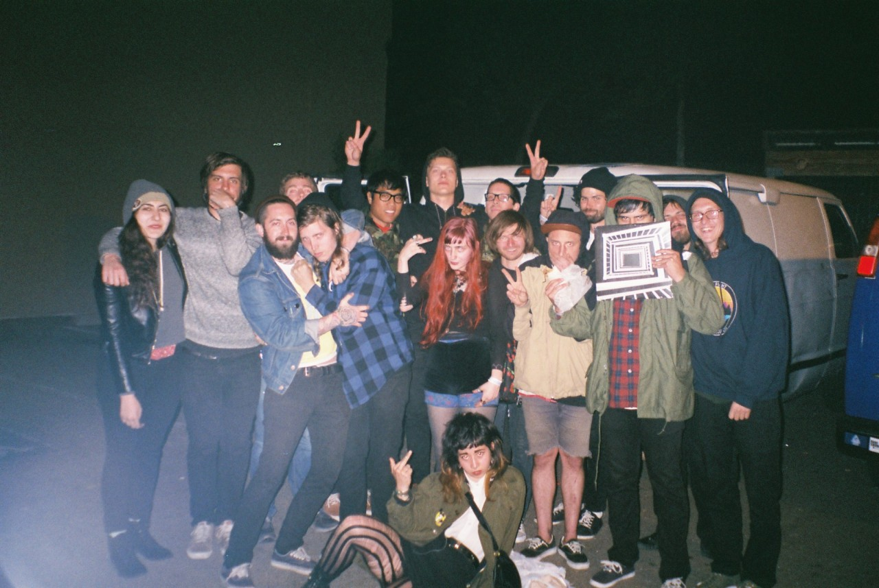snakesofchrist:  nothing / whirr. end of tour - santa cruz, CA <3