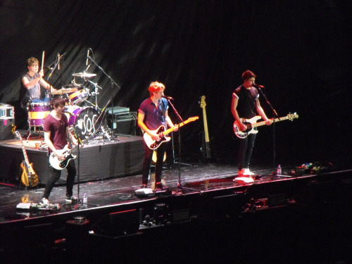 bexxterr:  my picture from the boys playing at birmingham 22.3.13
