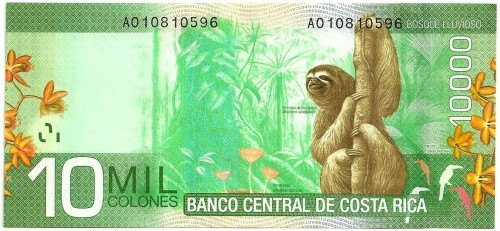 Yep, rebogging the sloth money.