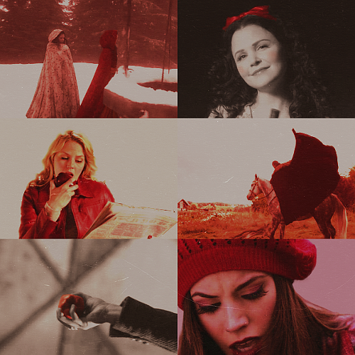 Once Upon a Time + red