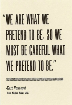 coffeepeople:  Kurt Vonnegut by † messerwerferin † on Flickr.