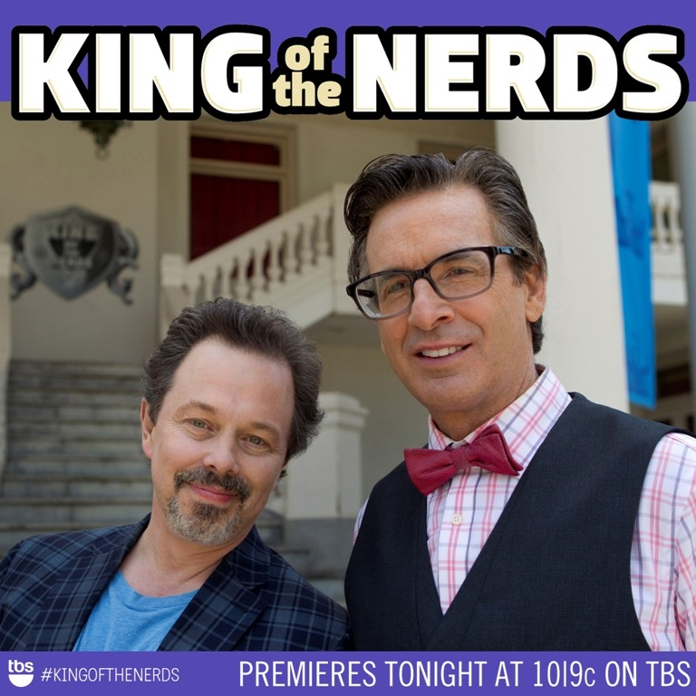 Tune in to TBS's ultimate nerd-off, King of the Nerds, Thursdays at 10|9c!