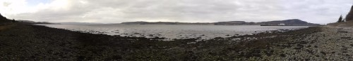 Another panorama shot from my Scotland trip. The shore of Beauly Firth near where I was camping.