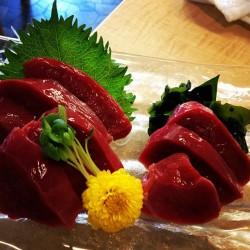 Shark heart sashimi in Kesennuma #sushiView Post