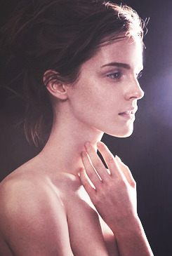 Emma Watson for Natural Beauty (by James Houston)