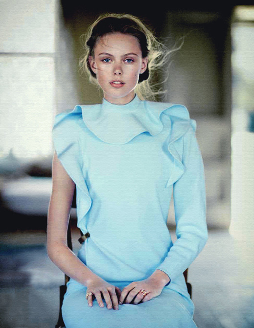 factorygirl-photography:  Frida Gustavsson Vogue Japan June 2013