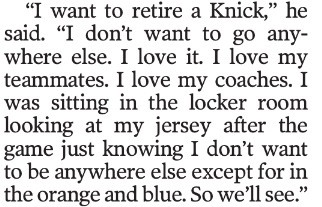 J.R. Smith  via Newsday