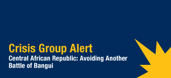 "Central African Republic: Avoiding Another Battle of Bangui Brussels/Nairobi  |   2 Jan 2013 Over the last three weeks, the ""Seleka"" rebellion has extended its control over a large part of the Central African Republic (CAR) and is now on the doorstep of the capital, Bangui. A political dialogue between the Seleka leaders, the government and the opposition parties is urgently needed to avoid a new battle of Bangui, such as those in 1996, 1997, 2001 and 2003, and potential casualties among the civilian population. ""Seleka"" (meaning ""alliance"" in the national language Sango) is a coalition of various armed movements that predominantly originate from the north east of the country. This alliance is made up of dissident factions of both the Convention of Patriots for Justice and Peace (CPJP) and the Union of Democratic Forces for Unity (UFDR), but it also integrates armed groups such as the Central African People's Democratic Front (FDPC), the Patriotic Convention for Salvation of Kodro (CPSK) and the newly created Alliance for Rebirth and Refoundation. Despite their diversity, the groups are united in their claims that President François Bozizé, who came to power in a coup in 2003, failed to honour the 2007 Birao Peace Agreement and 2008 Libreville Agreement. On 10 December, the rebels launched an offensive from the north east of the country and rapidly captured the diamond-producing city of Bria and the towns of Batangafo, Kabo, Ippy, Kaga Bandoro, Bambari and Sibut. Their march toward the capital was also  quick, as the national army was outnumbered and poorly organised. At Bozizé's request, the Chadian government sent some troops which are now stationed with the Central African army in the city of Damara, the last strategic town before Bangui some 75km away. The Economic Community of Central African States (ECCAS) held an extraordinary summit  in N'Djamena on 21 December and agreed on a roadmap to resolve this crisis: a ceasefire and immediate negotiations without conditions in Libreville under the aegis of ECCAS.  Furthermore, additional troops would be dispatched to reinforce MICOPAX, the peacekeeping mission of ECCAS deployed in CAR since 2008, to turn it into an interposition force. The president of Benin, Thomas Boni Yayi, the current  chair of the African Union, travelled to Bangui on 30 December to discuss developments with President Bozizé. Following their meeting, President Bozizé publicly stated that he was ready to negotiate without further delay and to establish a government of national unity. He also pledged not to run for a third term in the next presidential elections, scheduled for 2016. The CAR has faced political unrest since gaining independence from France in 1960, including numerous attempted coups. Several hundred people died during the 1996 and 1997 mutinies in Bangui, and more than 300 died during outbreaks of violence following the failed putsch in 2001; 50,000 more were forced to flee the capital. Between October 2002 and March 2003, fighting between the national army, supported by armed groups coming from the Democratic Republic of the Congo, and the rebellion also led to scores of civilian casualties in Bangui and throughout the country. FULL CRISIS GROUP ALERT"