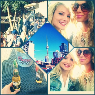 #patio #party #Toronto xx  (at Oasis Rooftop Patio)