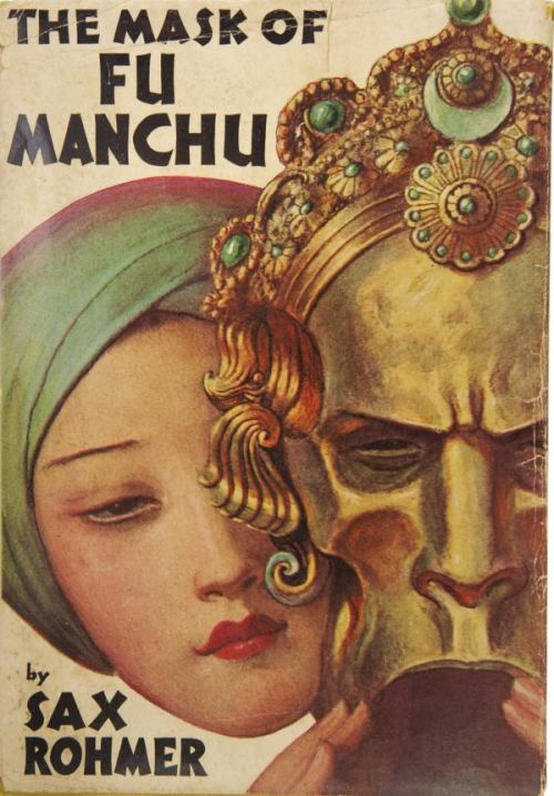 warrenellis:  (via The Mask of Fu Manchu | Pulp Covers)