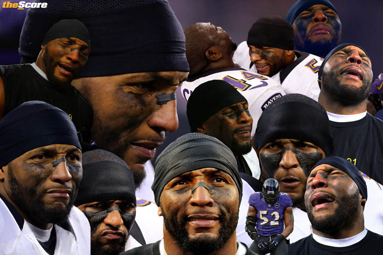 Pic: Ray Lewis, the Saddest Super Bowl Champion Ever.
