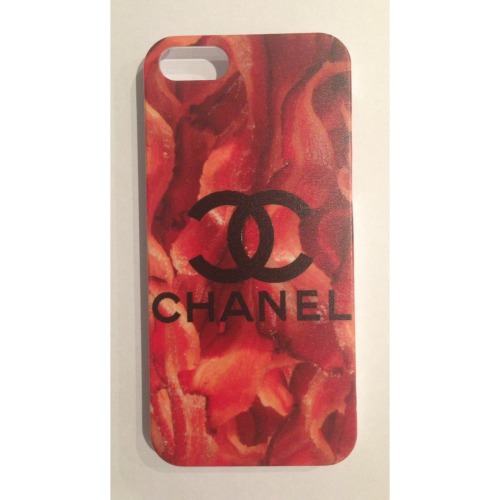 pizza:  chanel/bacon case from caseapp! Get yours here!