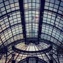 Le Grand Palais, in le (even earlier) morning. CE #pfw #chanel