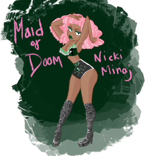 candycanemonster:  Nicki wouldn't be caught dead in the traditional Maid outfit