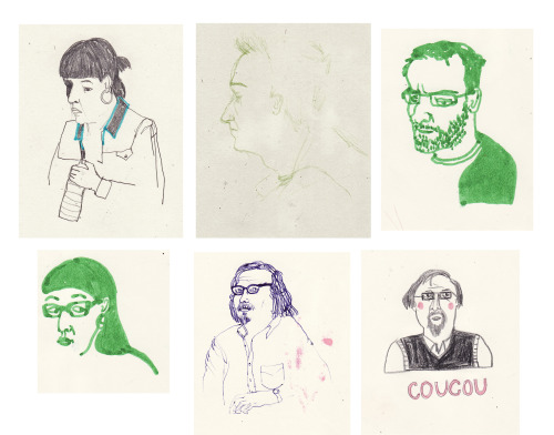 Teachers in my sketchbook…