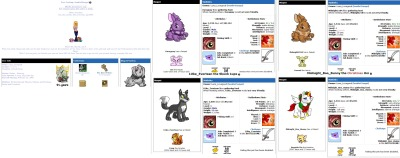 My old neopet account 1. http://www.neopets.com/userlookup.phtml?user=hoodie45angel