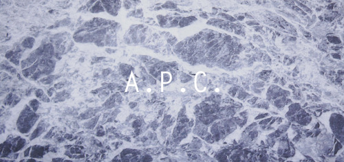 Our entire selection of A.P.C. is now available online.