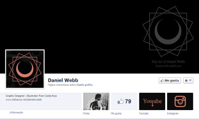 Check out my Facebook page Daniel Webb and click like