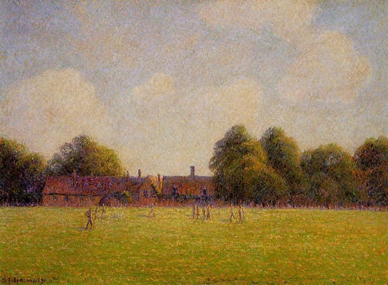 Camille Pissarro - Hampton Court Green London