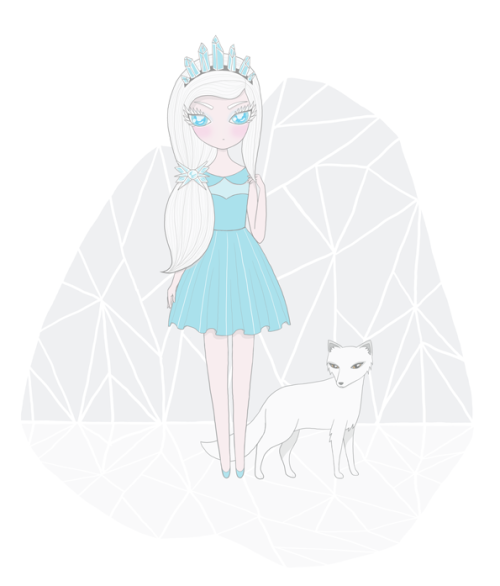 Arctica, the ice princess :)