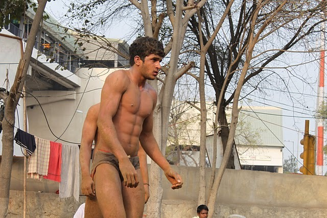 Indian Wrestlers who conserve their semen for strength.
