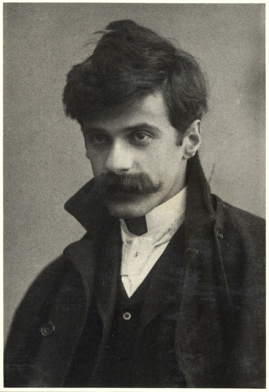 Photographer Alfred Stieglitz self-portrait, c. 1894, age 30.